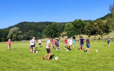 International football camp